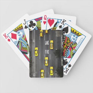 Taxi Cabs Bicycle Playing Cards