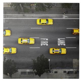 Taxi Cabs Ceramic Tile