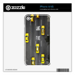 Taxi Cabs Decal For iPhone 4S
