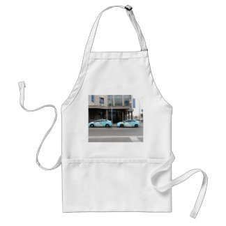 Taxi Cabs in Vilnius Lithuania Adult Apron