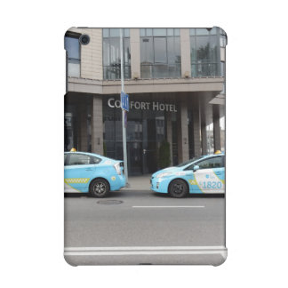 Taxi Cabs in Vilnius Lithuania iPad Mini Cover