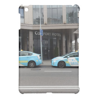 Taxi Cabs in Vilnius Lithuania iPad Mini Covers