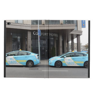 Taxi Cabs in Vilnius Lithuania Powis iPad Air 2 Case