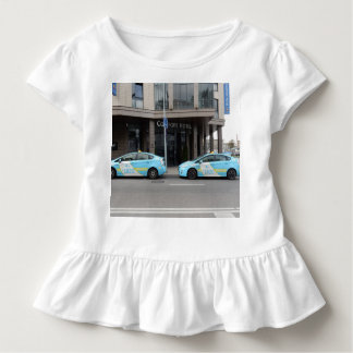 Taxi Cabs in Vilnius Lithuania Toddler T-shirt
