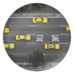 Taxi Cabs Party Plates