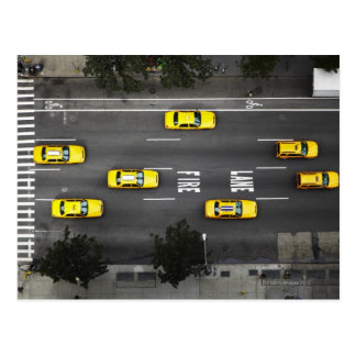 Taxi Cabs Post Card