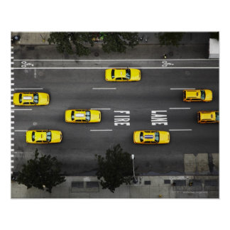 Taxi Cabs Poster