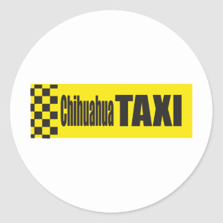 Taxi Chihuahua Stickers
