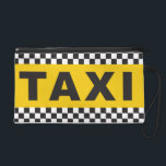 """Taxi! Clutch<br><div class=""""desc"""">Its time for our accessories to work harder for us! Stand out from the crowd with a clutch that will get you a ride in no time! And if you like this design, you should also check out our Taxi! iphone Cover, send a clear message to drivers out on those...</div>"""