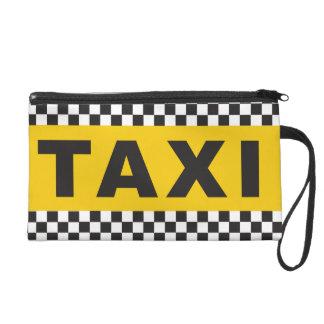 Taxi Clutch Wristlets