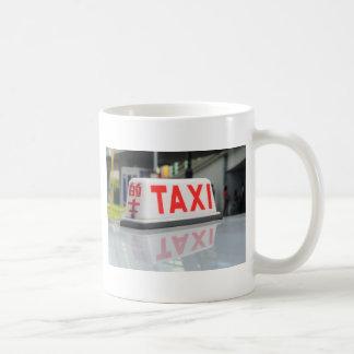 Taxi de Hong Kong Taza Clásica