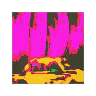 Taxi de la ciudad de Rhub Lona Estirada Galerias