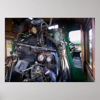 Taxi de la locomotora de vapor, SVRy #19 Póster