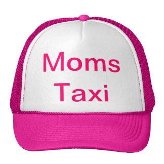 Taxi de las mamáes gorras de camionero