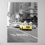 Taxi de Nueva York Poster