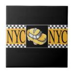 Taxi de NYC Tejas Ceramicas