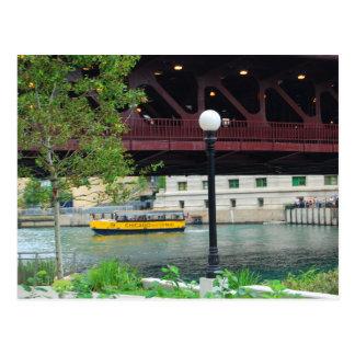 Taxi del agua de Chicago Postal