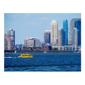 Taxi del agua de Nueva York Postal