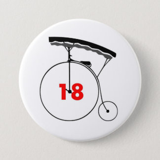 Taxi Driver 18 Pinback Button
