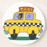 Taxi Driver Beverage Coaster