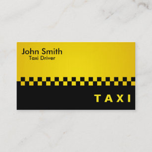Taxi driver business cards zazzle taxi driver business cards colourmoves