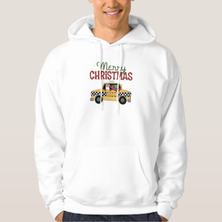 Taxi Driver Christmas Hoodie