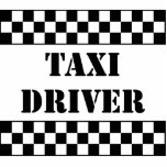 Taxi Driver Photo Cut Out