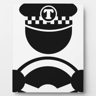 Taxi Driver Plaque