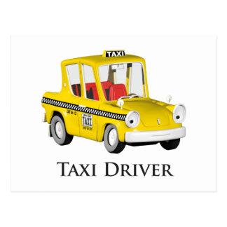 Taxi Driver Postcard