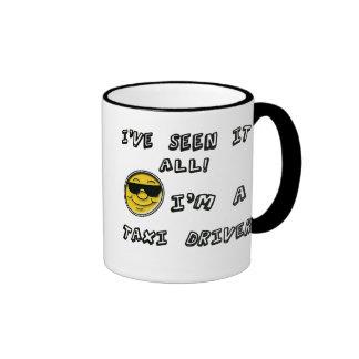 Taxi Driver Ringer Mug