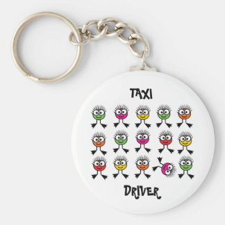 Taxi Driver - Swimming Parent Keychain