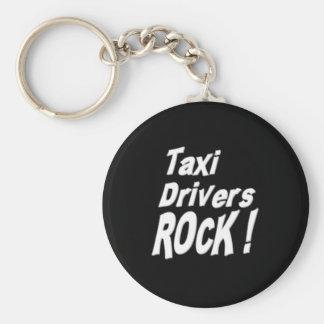 Taxi Drivers Rock! Keychain