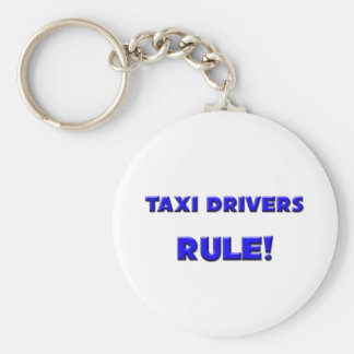 Taxi Drivers Rule! Keychain