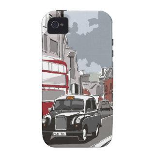 Taxi en Londres iPhone 4/4S Carcasas