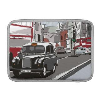 Taxi en Londres Funda MacBook