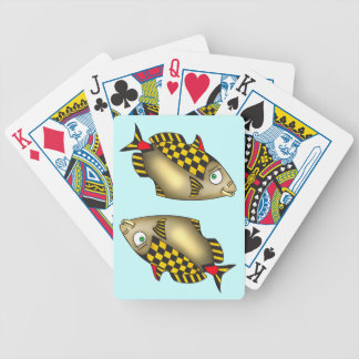 Taxi Fish Playing Cards