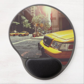 taxi gel mouse pad