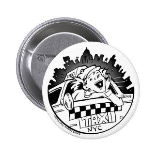 Taxi Girl_Button Pin Redondo De 2 Pulgadas