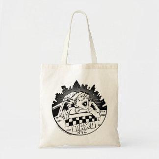 Taxi Girl Tote Bag