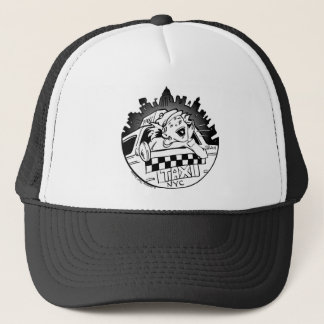 Taxi Girl Trucker Hat