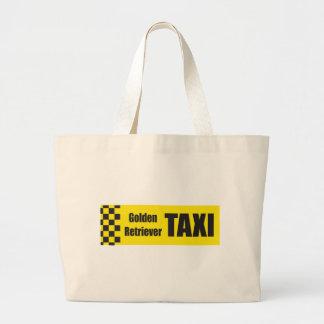 Taxi Golden Retriever Bag
