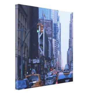 Taxi I de NYC Lona Envuelta Para Galerias