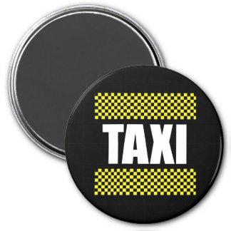 Taxi Imán Redondo 7 Cm