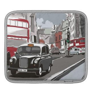 Taxi in London iPad Sleeve