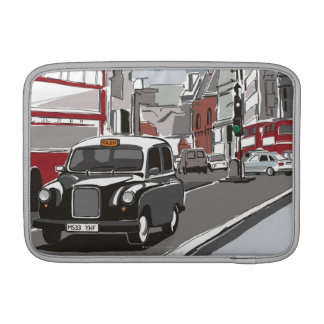 Taxi in London MacBook Air Sleeve