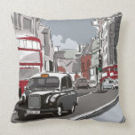Taxi in London Pillows