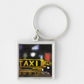 Taxi Keychain