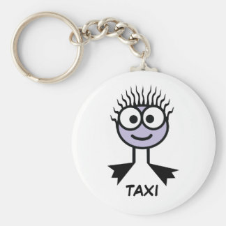 TAXI - Lilac Swim Character Keyring Keychain
