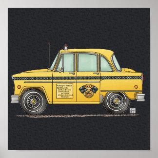 Taxi lindo póster