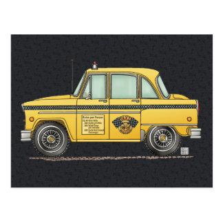 Taxi lindo postales